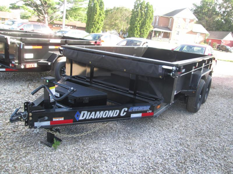 "2021 12X82"" 14.9k Diamond C LPD Dump Trailer 49859"