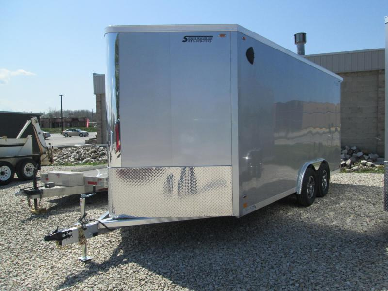 2022 8x16+V-Nose 7K Legend FTV Enclosed Cargo Trailer. 17710