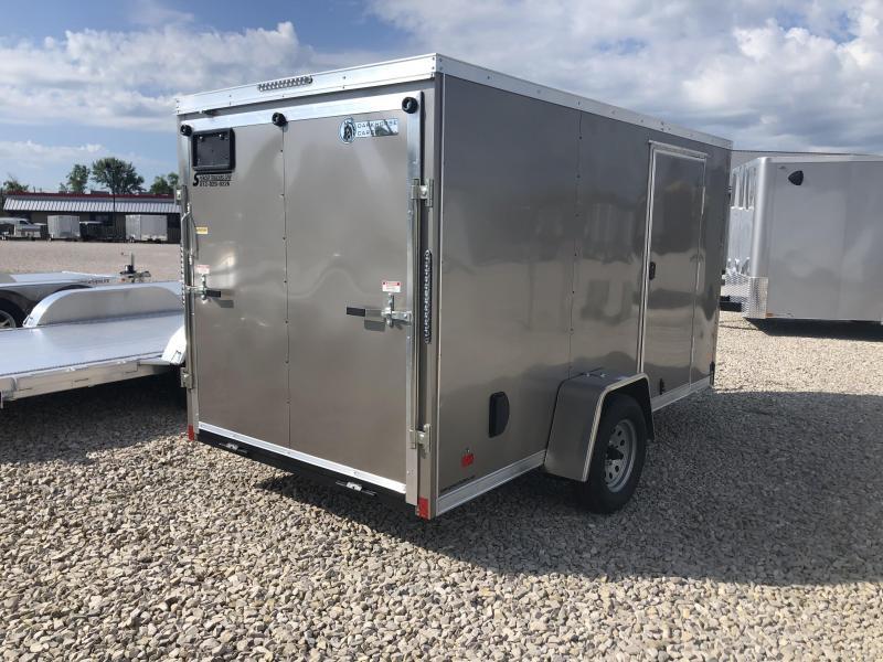 2020 6x12 Darkhorse Enclosed Trailer. 100955