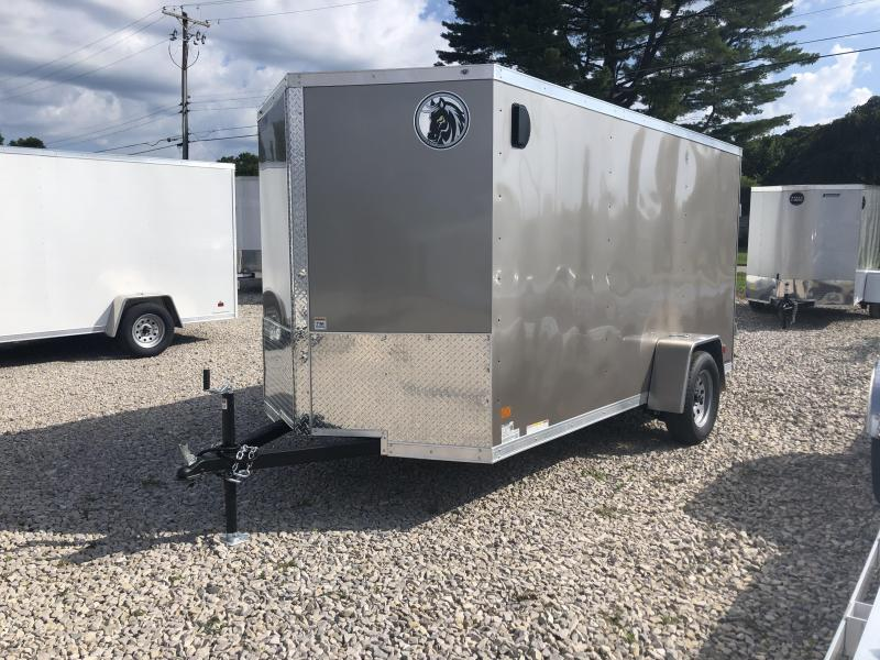 2020 6x12 Darkhorse Enclosed Trailer. 100955