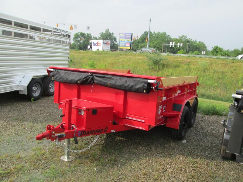 2020 Diamond C Trailers EDG235 Dump Trailer