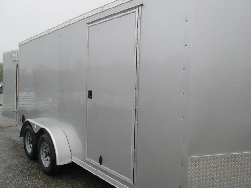 2021 7x16 Darkhorse Enclosed Cargo Trailer. 102244