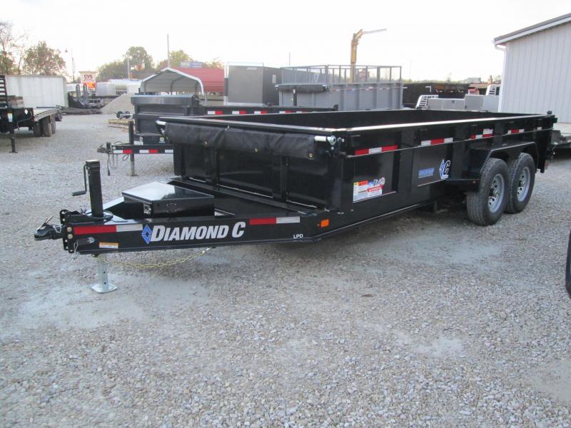 2021 16x82 14.9K Diamond C LPD207 Dump Trailer. 35649