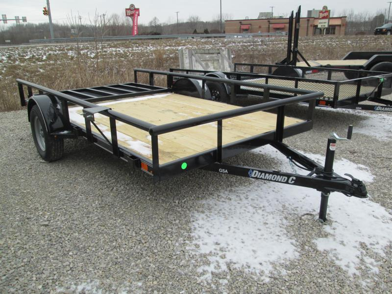 2021 12X77 Diamond C GSA135 Utility Trailer. 40955