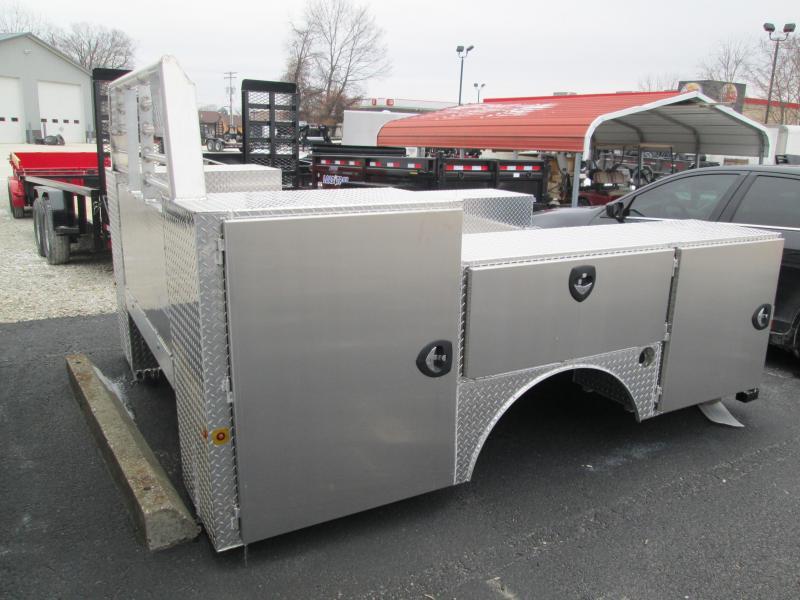 2021 94x114 Zimmerman ADVG Truck Bed. 08454