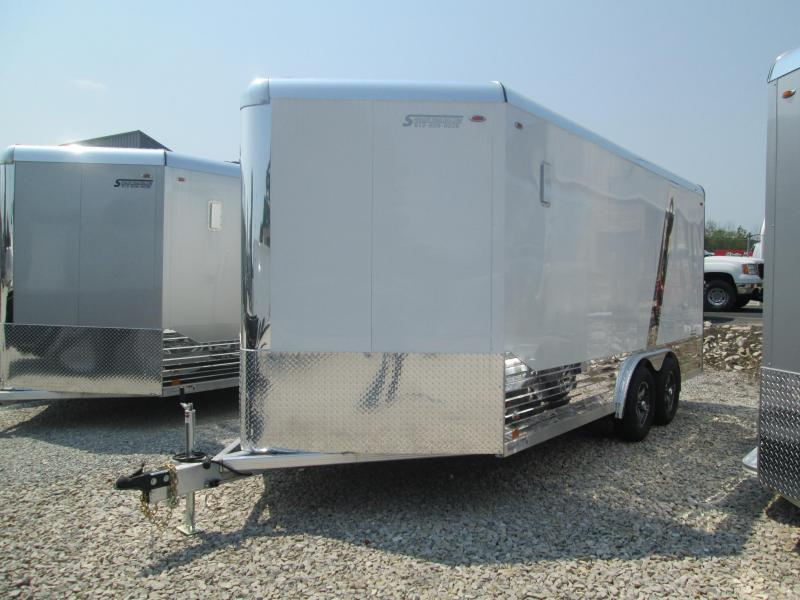 2021 8x16+V-Nose Legend DVN Enclosed Cargo Trailer. 17682