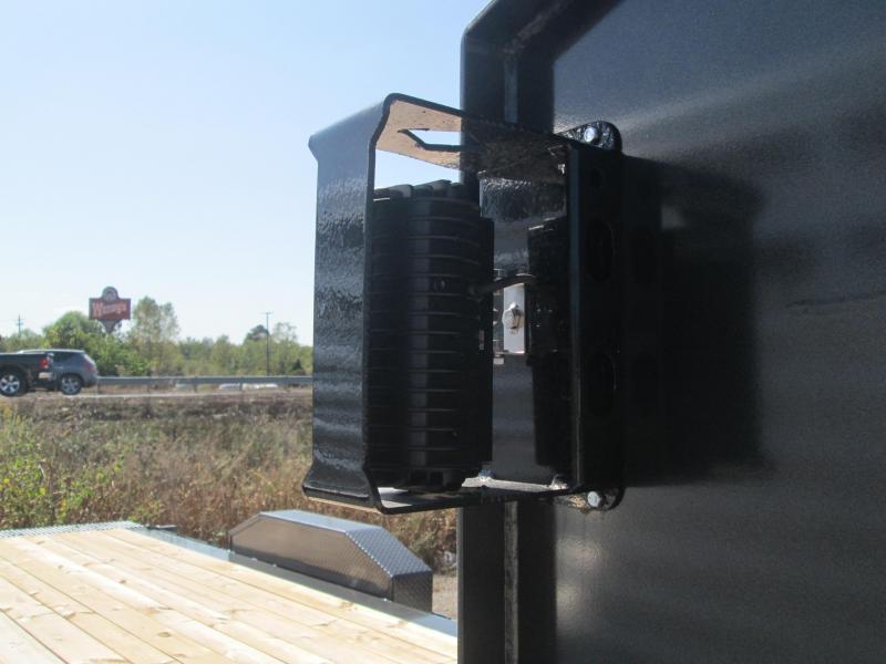"""2021 16'+6'x82"""" 14.9K Diamond C HDT207 Split Deck Tilt Gooseneck Equipment Trailer. 33406"""