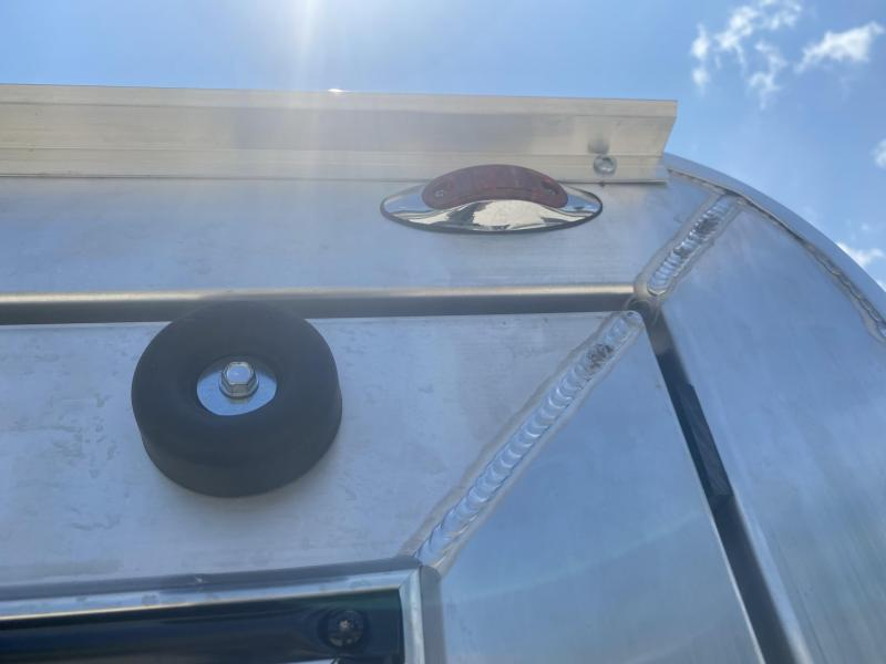 2021 7x16'+V-Nose 7K Legend DVN Enclosed Trailer. 17718