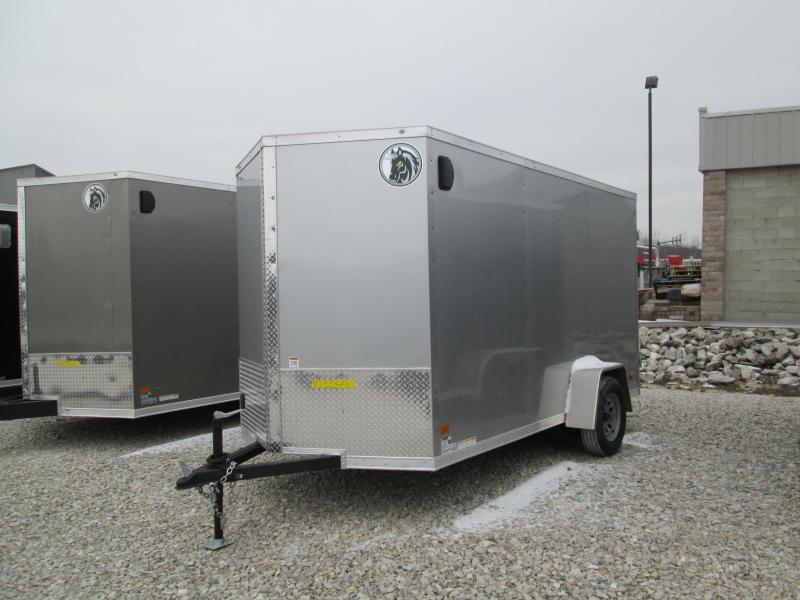 2021 6X12 Darkhorse Enclosed Cargo Trailer. 103549
