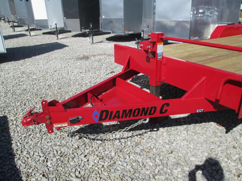 "2021 18'+2'x82"" 14.9K Diamond C EQT207 Equipment Trailer. 35734"