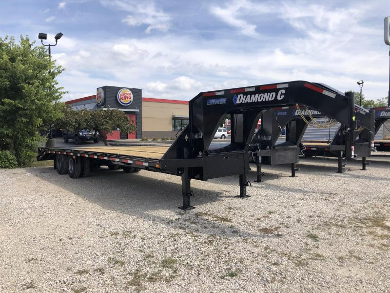 "2021 FMAX 210MR 25'+5'x102"" 25K Diamond C Engineered Beam Equipment Trailer. 33840"