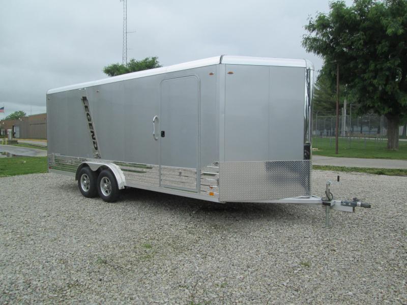 2021 8x23 10K Legend DVN Enclosed Cargo Trailer. 17587
