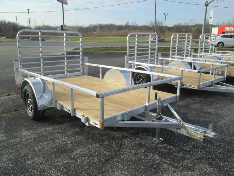 2021 LEGEND Open Deluxe Utility Trailer