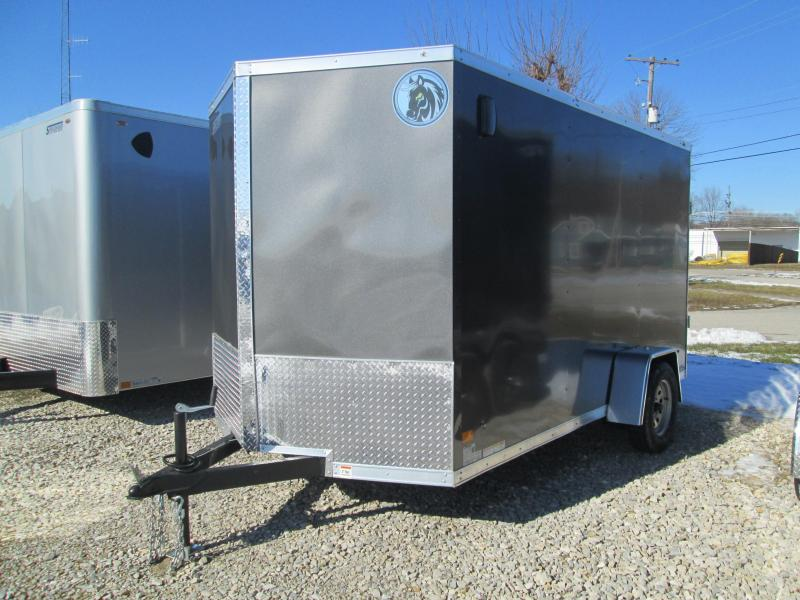 2021 6.5x12 Darkhorse Cargo with ramp door. 03505