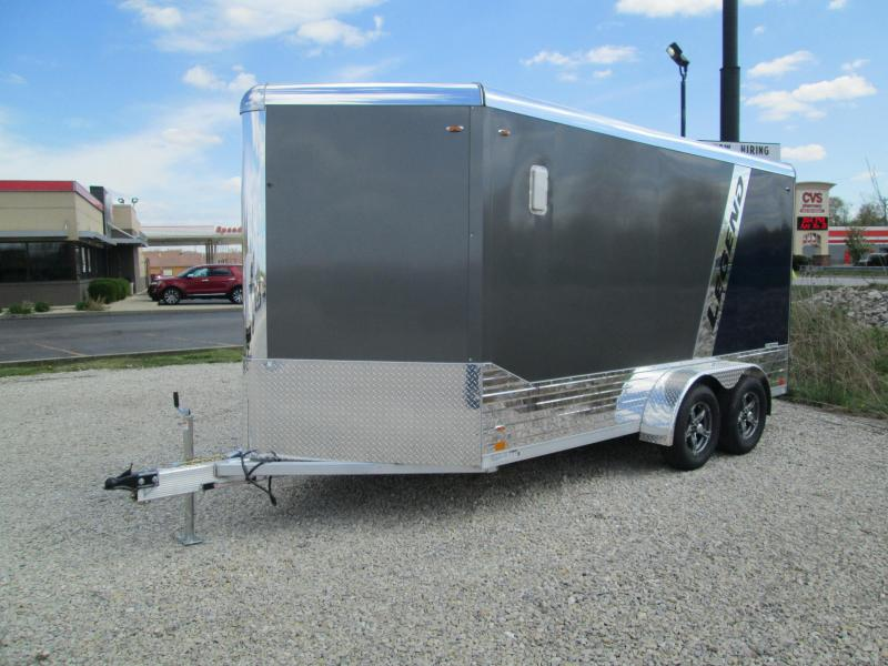 2022 7x14+V-Nose 7K Legend DVN Enclosed Cargo Trailer. 17130