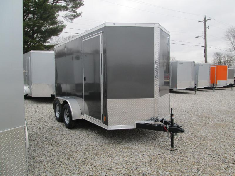 2021 6x12 7K Darkhorse Enclosed Cargo Trailer. 102525