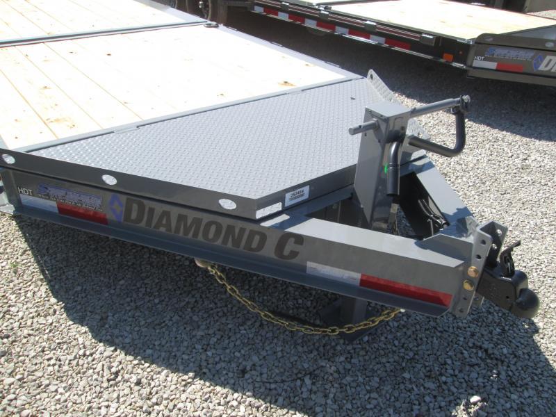 2022 6+16 14.9K Diamond C HDT207 Equipment Trailer. 52454