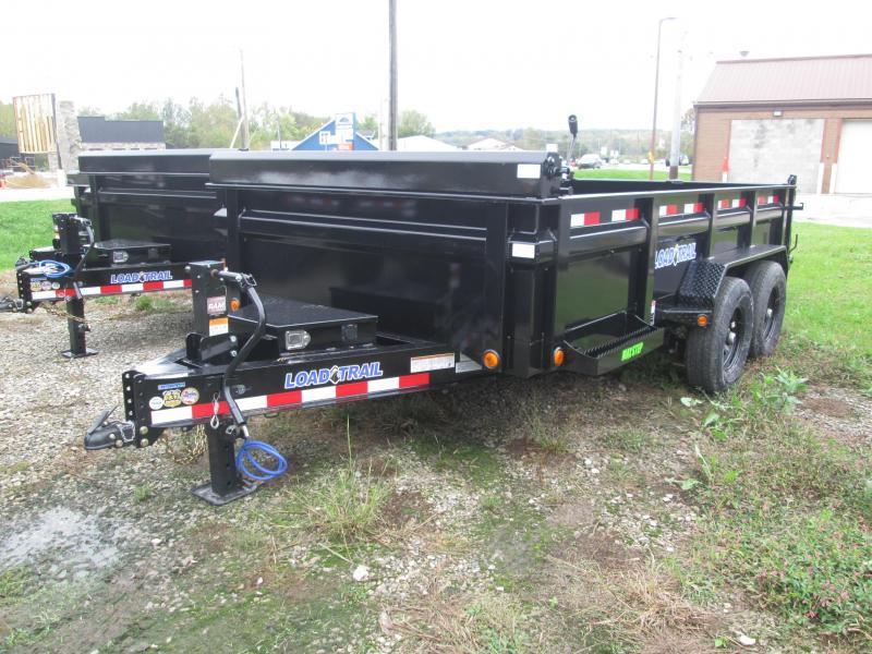 2022 83x14 14k Load Trail DT8314 Dump Trailer. 50782