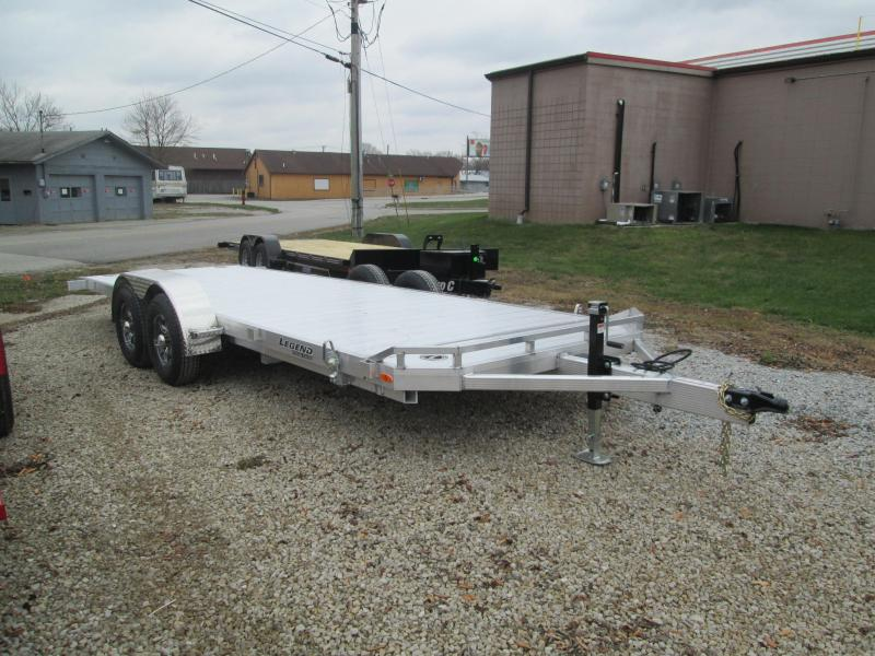 2021 Legend 22' Aluminum Tilt Car Hauler