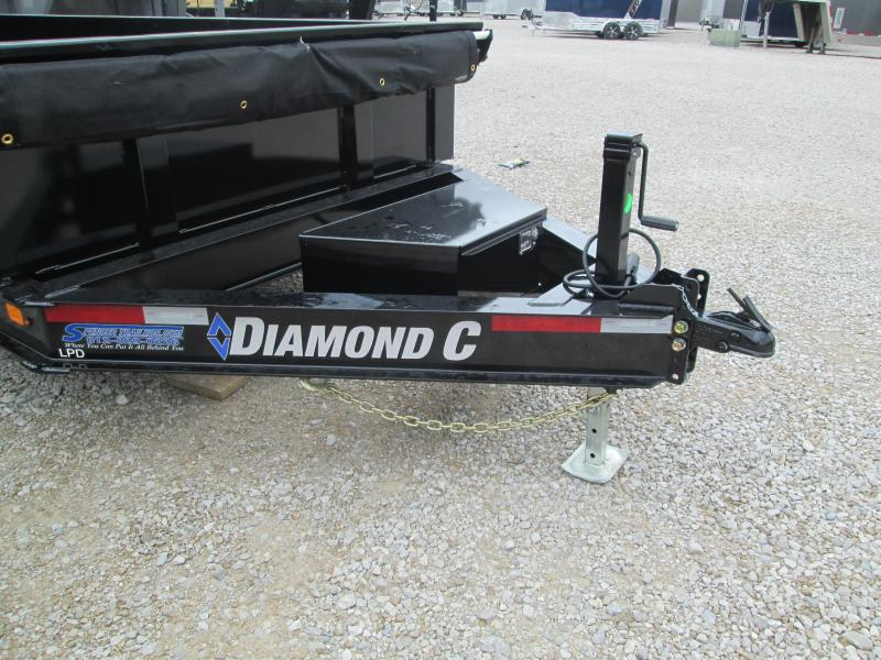 2021 16x82 14.9K Diamond C LPD207 Dump Trailer. 35579