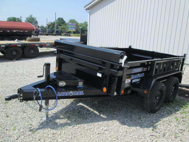 2020 72x10 7k Load Trail Dump with side mount ramps. 09099