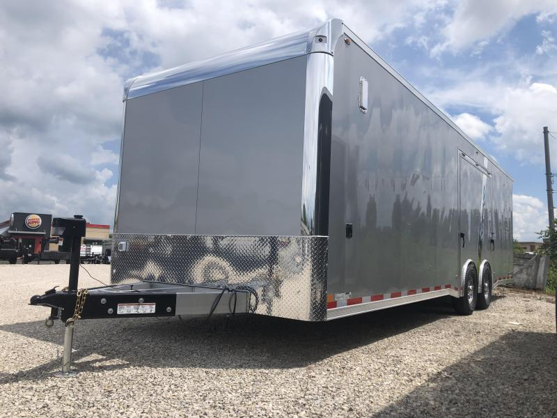 2021 8.5X28 12k Legend Trailmaster Enclosed Trailer. 17425