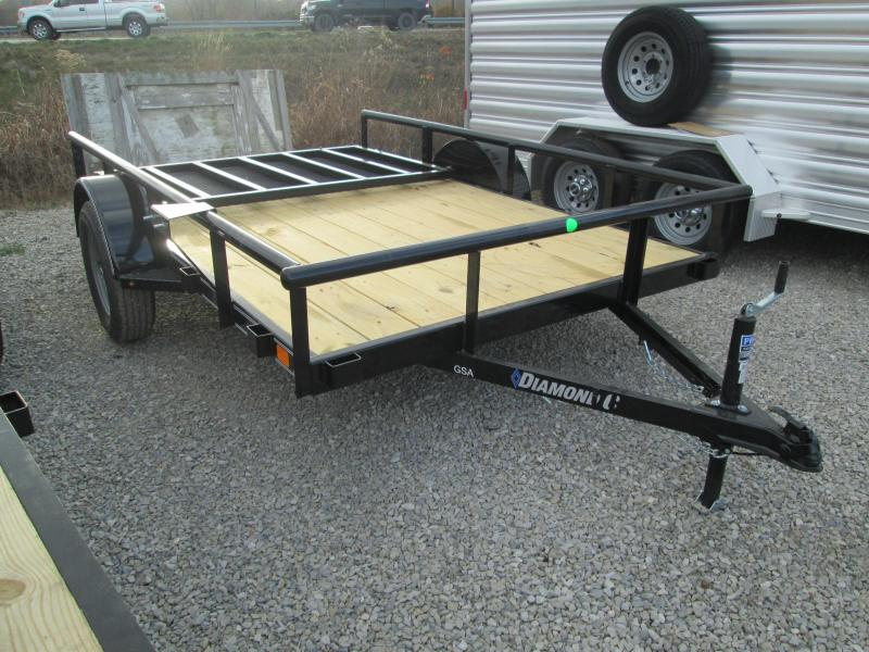 2021 10x77 Diamond C GSA135 Utility Trailer. 37527