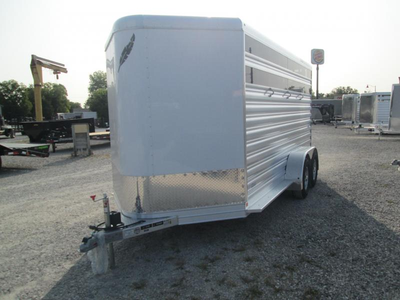2021 3 Horse Featherlite 9651-314B Horse Trailer. 54465