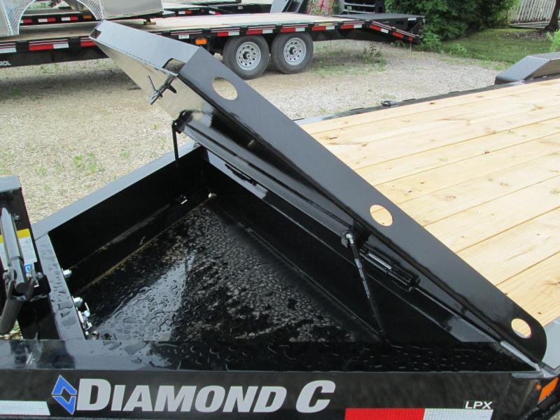 2020 20+2x80 16K Diamond C LPX208 Equipment Trailer. 29920