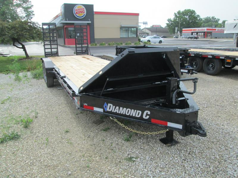 2020 20+2x80 16K Diamond C LPX208 Equipment Trailer. 29920