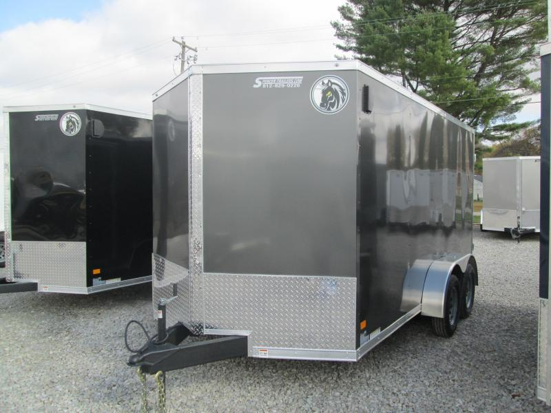 2021 7x14 7K Darkhorse DHW7x14TA35 Enclosed Cargo Trailer. 102243