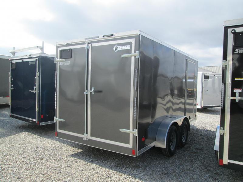 2021 7x14 7K Darkhorse DHW7x14TA35 Enclosed Cargo Trailer. 102243