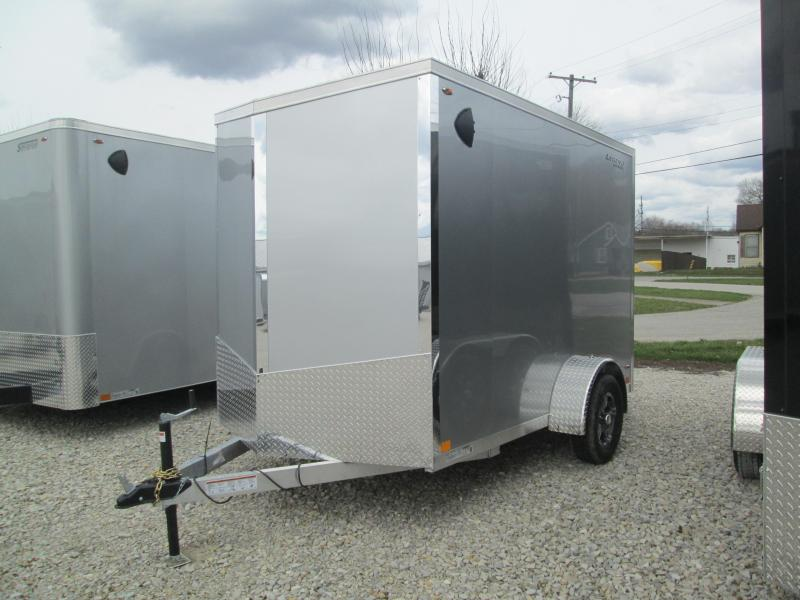 2021 6x10+V Nose Legend Explorer Enclosed Cargo Trailer. 17138