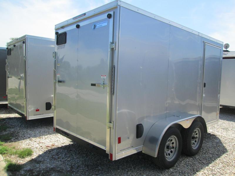 2021 6x12 7K Darkhorse Enclosed Cargo Trailer. 1437
