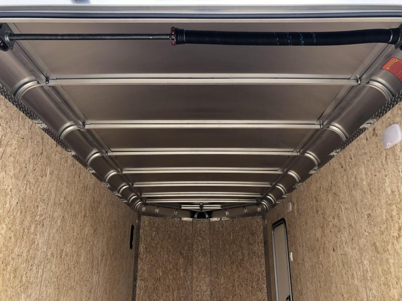 2020 LEGEND 7x14+V-Nose DVN Enclosed Trailer. 17972
