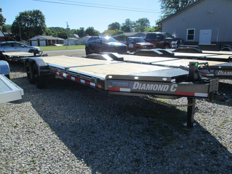"2020 16'+6'x82"" 20K Diamond C HDT210 Equipment Trailer. 31054"