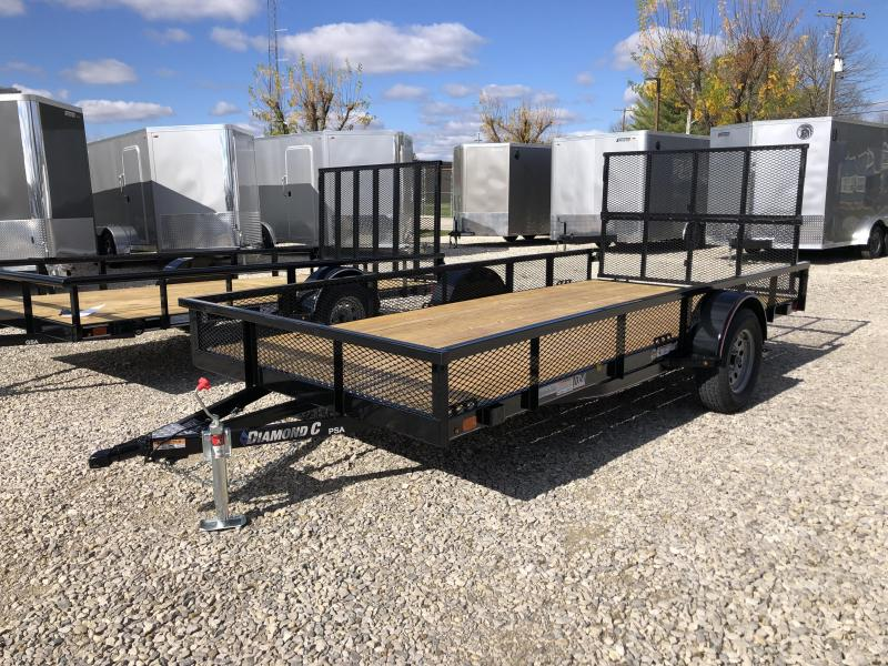 2021 14x77 Diamond C PSA135 Utility Trailer. 35748