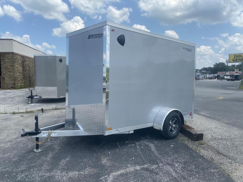 2021 6x10+V-Nose Legend Explorer Enclosed Trailer. 17860