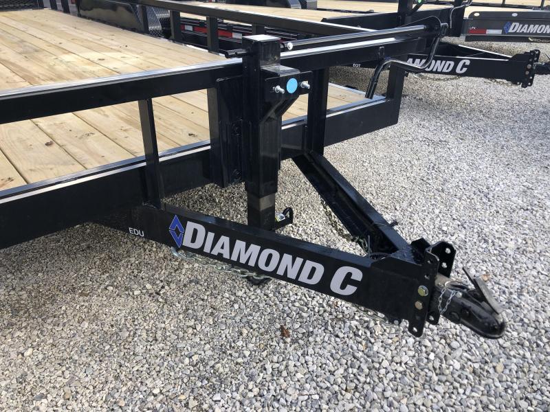 "2021 20'+2'x82"" 14K Diamond C EDU207 Utility Trailer. 35737"
