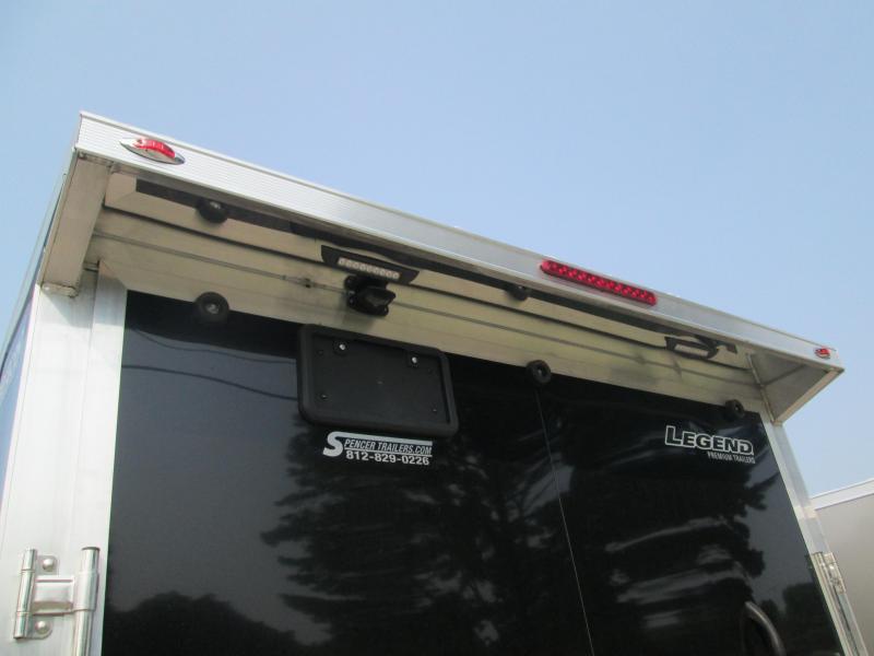 2022 7.5'x14'+V-Nose 7K Legend Thunder Enclosed Cargo Trailer. 317509
