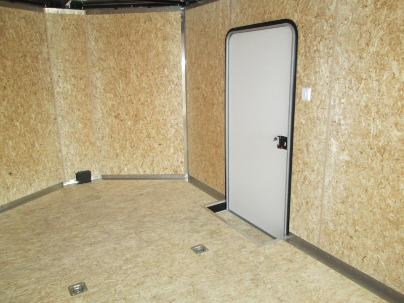 2021 8.5x24 plus V-nose 10K Legend STV Enclosed Cargo Trailer. 317824