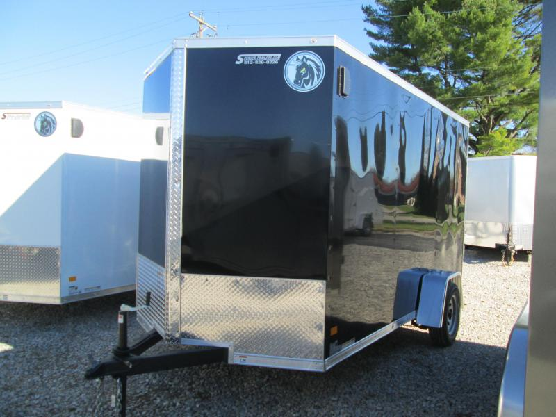 2021 6.5x12 Darkhorse Enclosed Cargo Trailer. 101922