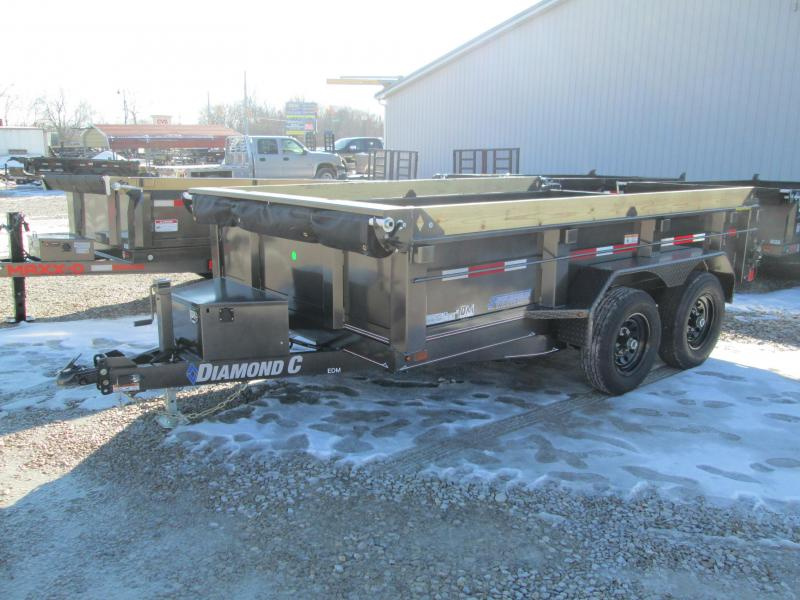 2021 82x12 10K Diamond C EDM252 Dump Trailer. 41063
