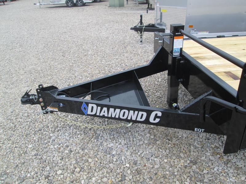 "2021 20'+2'x82"" 14K Diamond C EQT207 Equipment Trailer. 36676"