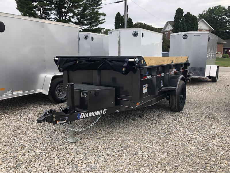 2020 10x60 5K Diamond C EDS152 Dump Trailer. 32321