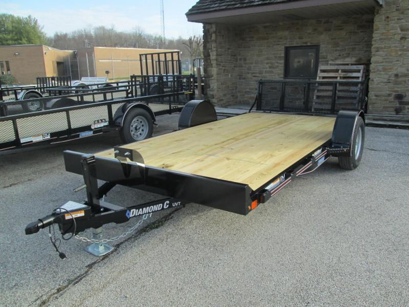 2021 14x83 Diamond C UVT135 Utility Trailer. 37370