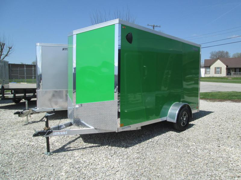 2021 12'+V-nose Legend Explorer Enclosed Cargo Trailer. 17131