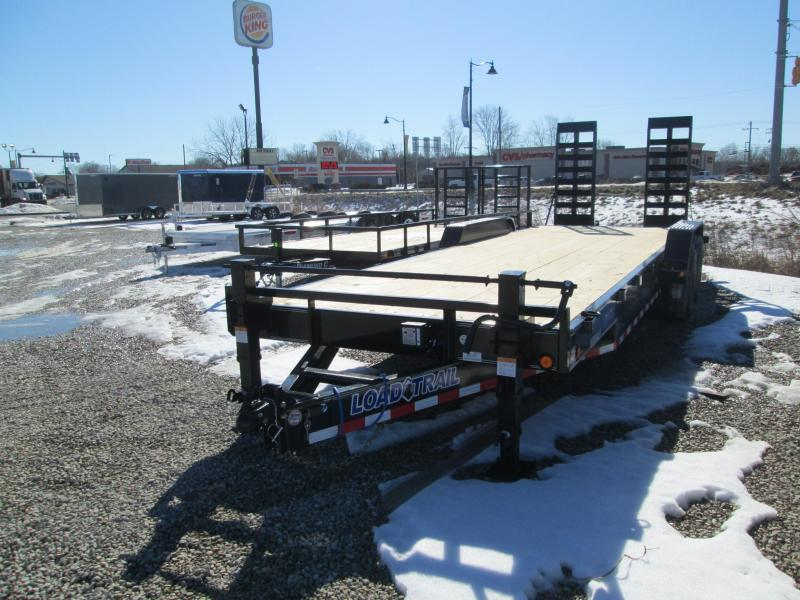2021 22'+2' 14k Load Trail Equipment with fold-up ramps. 25508