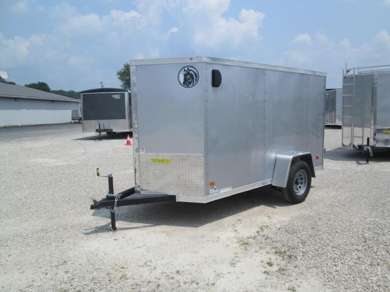 2022 5x10 Darkhorse Enclosed Cargo Trailer. 103653