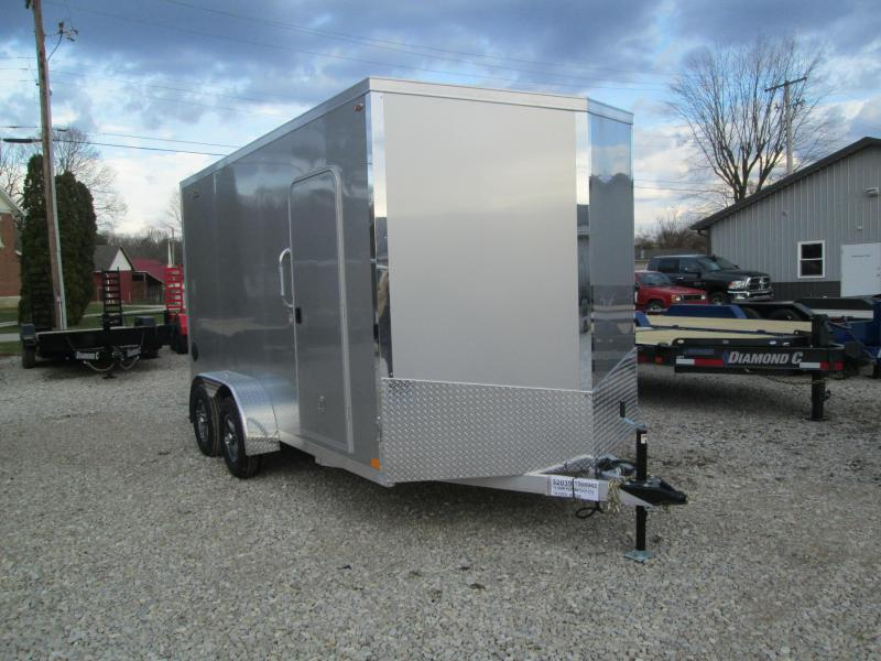 2021 Legend 7x14+2 7k Explorer Enclosed Cargo Trailer. 17173